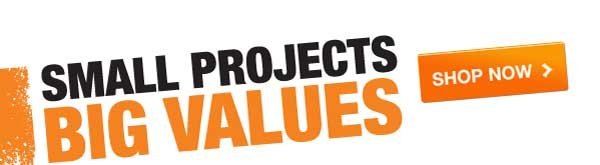 Small Projects Big Values