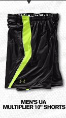 MEN'S UA MULTIPLIER 10 SHORTS