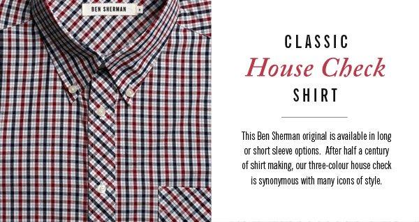 Classic House Check Shirt