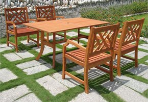 Wooden Patio Set