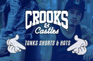 Tanks, Shorts, & Hats