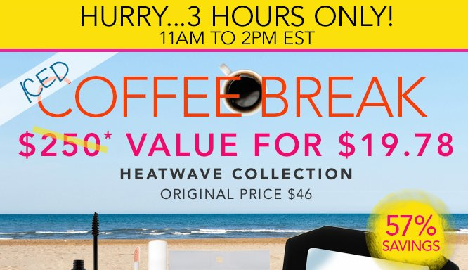 Coffee Break - Heatwave Collection for only $19.78