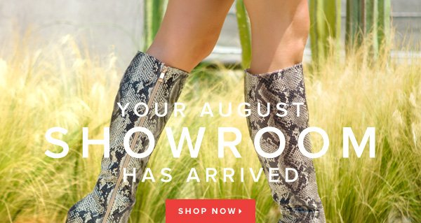Your August Showroom Has Arrived - - Shop Now