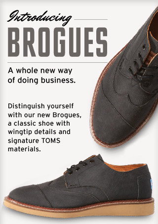 Introducing Brogue - a whole new way of doing business
