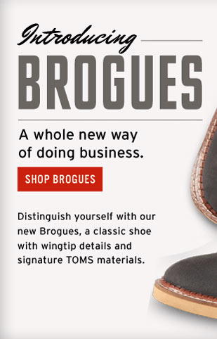 Introducing Brogues - a whole new way of doing business