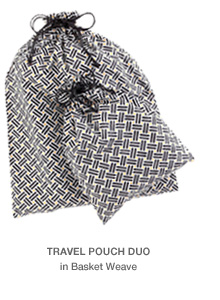 Travel Pouch Duo