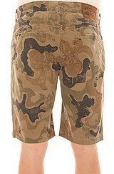 The Drifter Pattern Shorts in Military Brown Dust Camo
