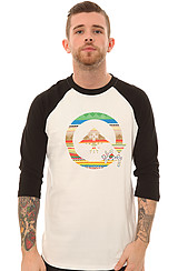 The 147% Unnatural Raglan Tee in White