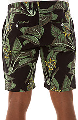 The Painted Palms Shorts in Black