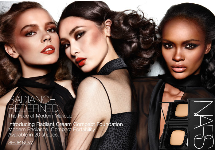 Radiance Redefined.The Face of Modern Makeup.