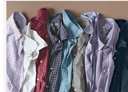 Classic Fit Legend Wash Poplin Shirt