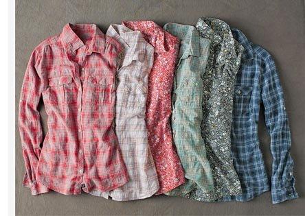 Long-Sleeve Camp Shirt