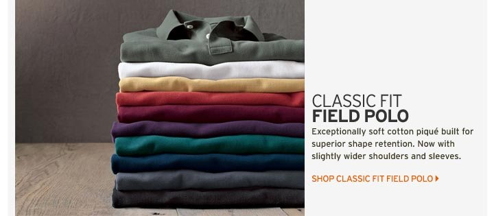 Classic-Fit Field Polo Shirt