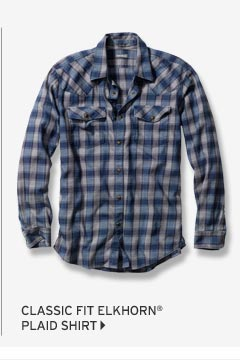 Classic Fit Elkhorn® Plaid Shirt