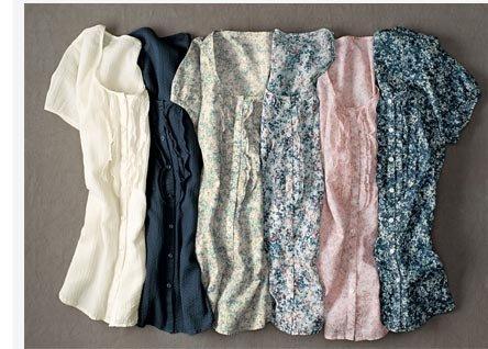 Short-Sleeve Ruffled Solid Shirt