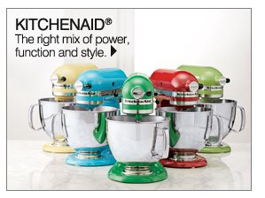 KitchenAid® The right mix of power, function and style. Shop KitchenAid