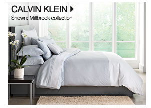 Calvin Klein Shown: Millbrook collection Shop Calvin Klein Home