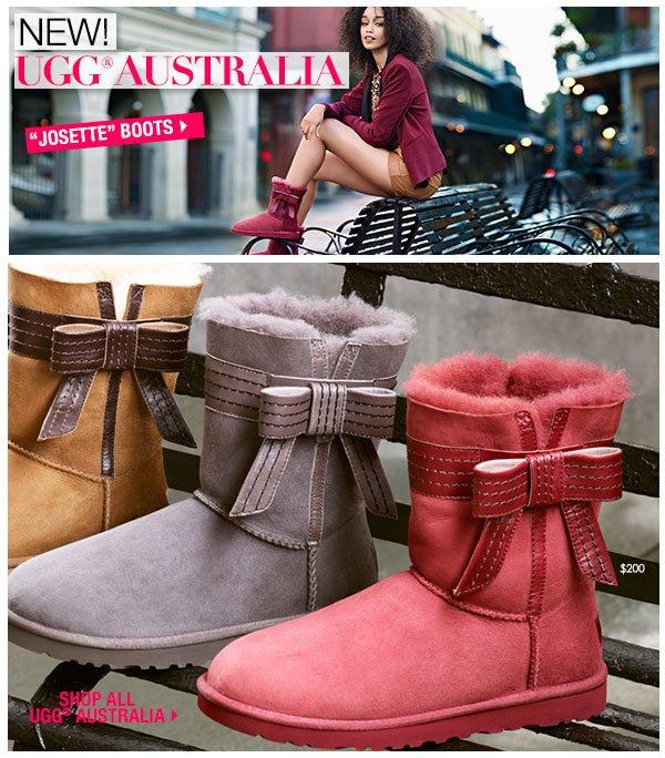 New! UGG Australia Josette boots.