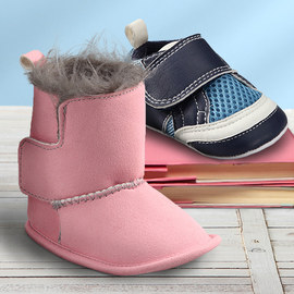Step by Step: Infant & Toddler Shoes