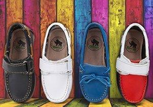 Set Sail: Kids' Nautical Shoes