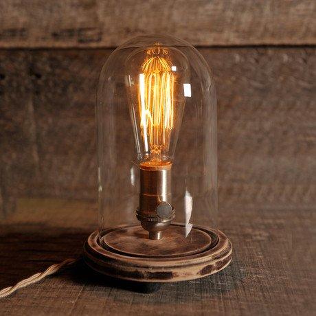 Bell Jar Table Lamp