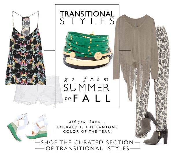 Transitional Styles