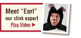 "Meet ""Earl"" our stink expert - Play Video"