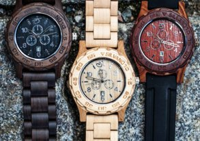 Shop New Wood Watches & Accessories