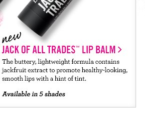 NEW Jack of All Trades Lip Balm
