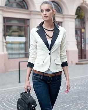 Maeva Secret Single Breasted Blazer Made In Europe
