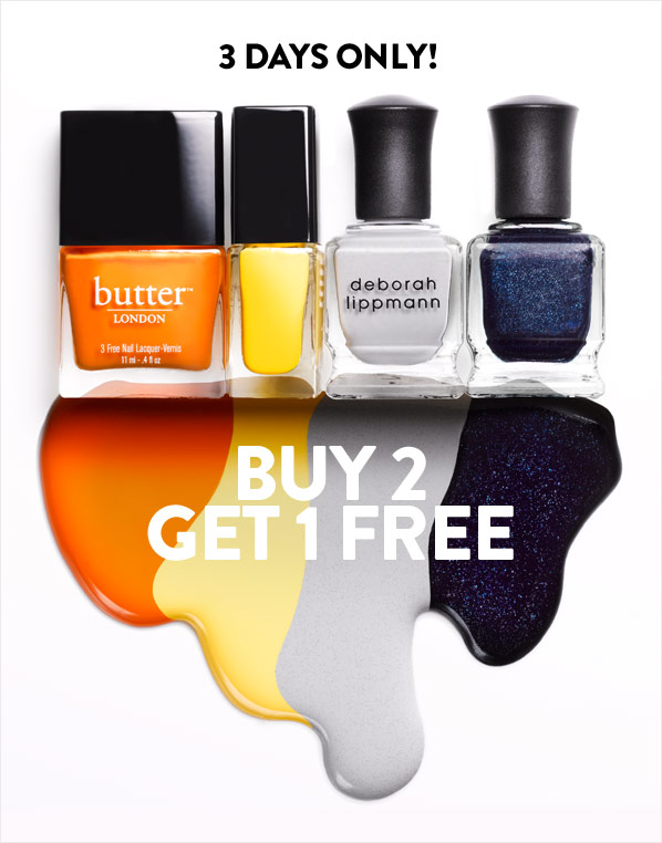 3 DAYS ONLY! BUY 2 GET 1 FREE