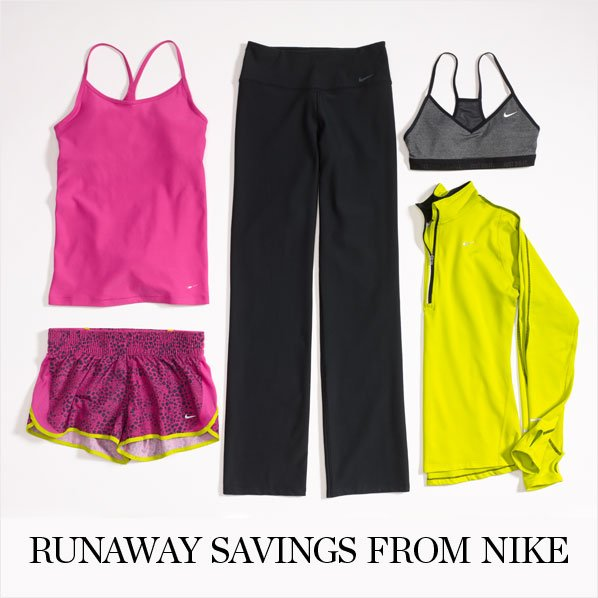 RUNAWAY SAVINGS FROM NIKE