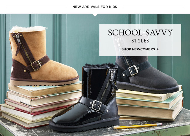 School-savvy styles - Shop newcomers