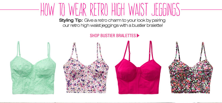 How to Wear Retro High Waist Jeggings