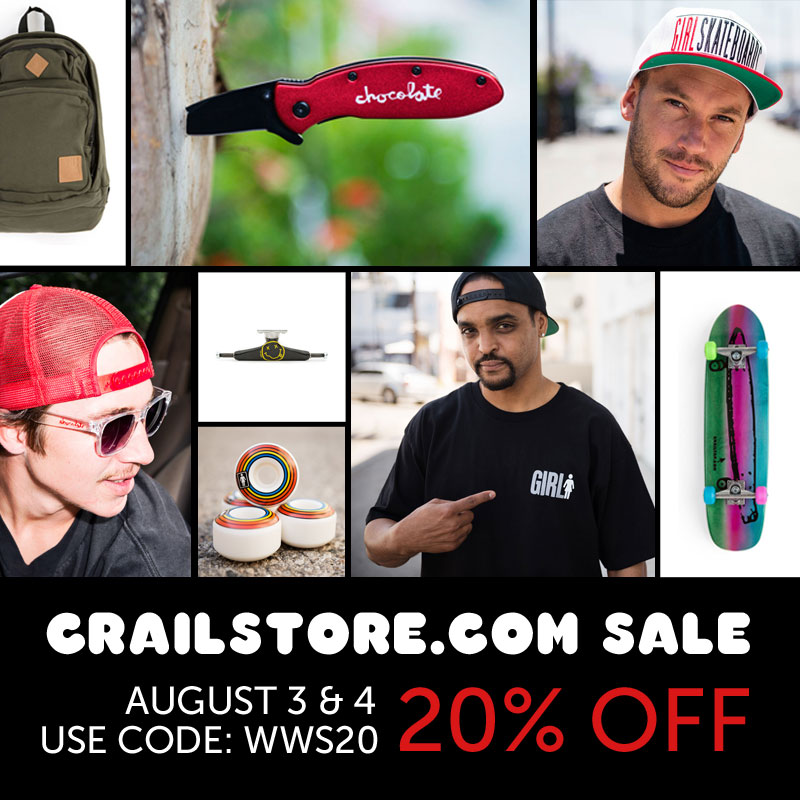 Crailstore 20% OFF Sale