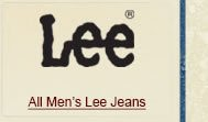 All Mens Lee Jeans on Sale