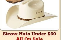 All Mens Straw Hats Under 60 on Sale