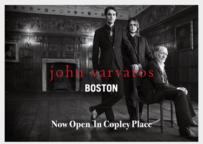John Varvatos Now Open in Copley Place