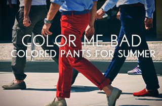 Colored  Pants For Summer