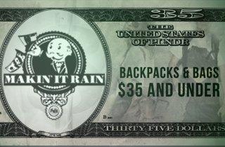 Backpacks & Bags $35 & Under