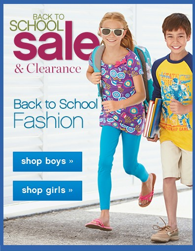 Back to School Sale & Clearance. Back to school fashion. Shop now.
