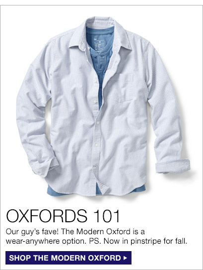 OXFORDS 101 | SHOP THE MODERN OXFORD