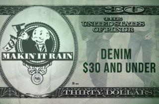 Denim $30 & Under