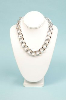SINGLE CHAIN CURB NECKLACE 7