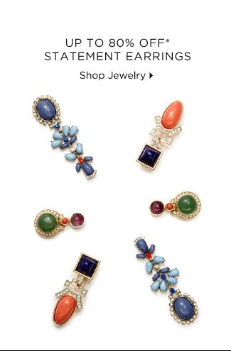 Up To 80% Off* Statement Earrings