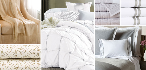 Refresh the Bed & Bath: In White, Grey, & Natural