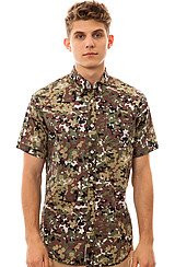 Pigeon Camo Buttondown