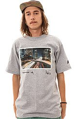 Downtown Tee in Heather Gray