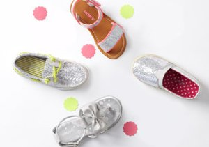 Shine Away: Metallic Kids' Shoes