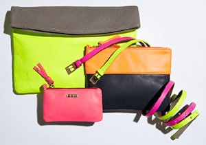 Color Theory: Handbags & Accessories